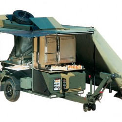 Trailer Mounted Kitchen FK2000