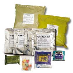 24 Hour Ration packs